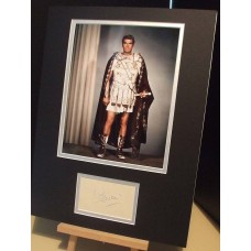 OLIVIER Laurence Spartacus Genuine Signed Display UACC COA