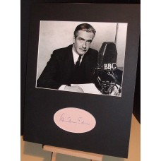 EDEN Anthony British Prime Minister Genuine Signed Display UACC RD#285