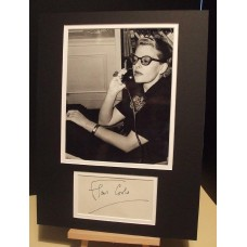 COWLES Fleur Flair Magazine / Artist / Writer Genuine Signed Display UACC RD#285