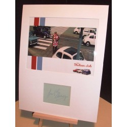 EMNEY Fred The Italian Job Genuine Authentic Signed Display UACC DEALER RD#285 COA