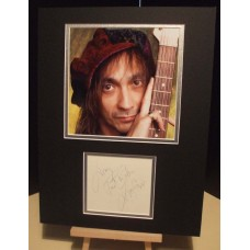 CRESPO JIMMY Aerosmith Scarce Genuine Signed Display UACC RD#285 COA