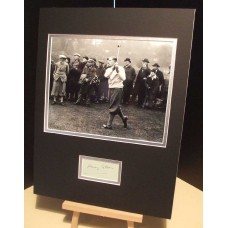 COTTON HENRY Golfer US Open / Masters Genuine Signed Display UACC RD#285 DEALER