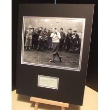 COTTON HENRY Golfer US Open / Masters Genuine Signed Display UACC RD#285 DEALER