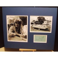 CAMPBELL Donald Bluebird Authentic Genuine Signed Display UACC RD#285 COA