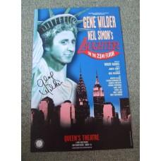 GENE WILDER RIP Signed In-Person Original Theatre Poster UACC RD#285 COA