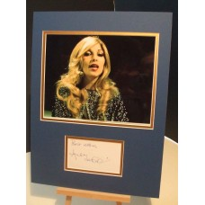 LYNSEY DE PAUL Scarce Genuine Signed Display UACC RD#285 COA