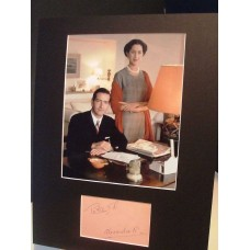 King Peter 11 & Queen Alexandra Vintage Genuine Signed Display UACC RD#285 COA