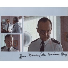 A TOUCH OF FROST Bruce Alexander Signed Photo 424H UACC