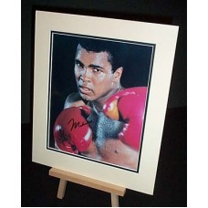 Ali Muhammad Genuine Signed Photo UACC COA