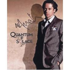 AMALRIC Mathieu Quantum of Solace In Person Autograph 894G