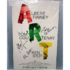 ART Stage Show Cast Signed Poster UACC COA