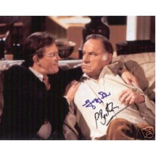 AS TIME GOES BY Cast Signed Photo x2 UACC COA