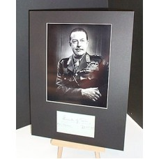 ALEXANDER of TUNIS Autographed Display UACC RD#285
