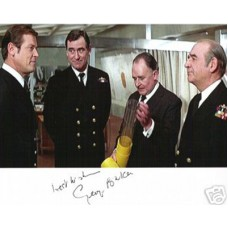 BAKER George James Bond Signed Photo UACC COA