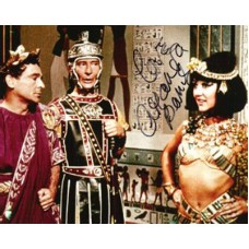 BARRIE Amanda Carry On Cleo Signed Photo  UACC COA