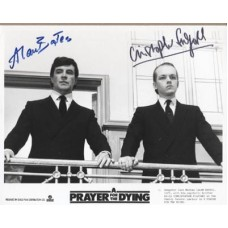 BATES Alan - FULFORD Christopher Pray for Dying Signed Press Still UACC COA