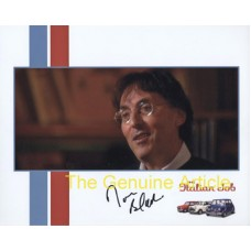 BLACK Don Lyricist The Italian Job Signed Photo 653H UACC COA