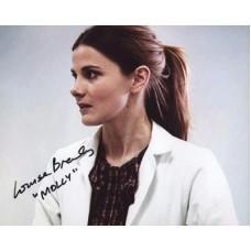 BREALEY Louise Sherlock Signed Photo 526H UACC COA