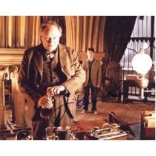 BROADBENT Jim Harry Potter In Person Autograph 422G UACC COA