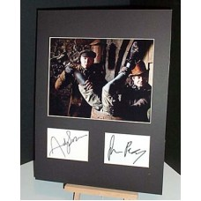 BURKE and HARE Cast Signed Autographed Display UACC COA