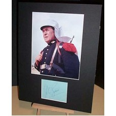 BUTTERWORTH Peter Carry On Signed Display UACC COA