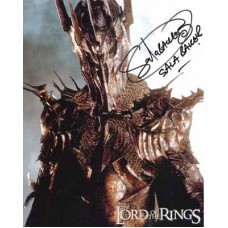 BAKER Sala Lord of the Rings Autograph 947A UACC RD#285 COA