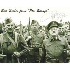 BEAN Colin Dads Army Signed photo  UACC COA