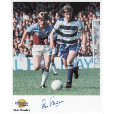 BOWLES Stan QPR Autographed Editions Signed Photo UACC COA