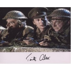 CARLTON Timothy Dads Army Signed Photo 249H UACC COA