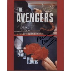 CLEMENS Brian The Avengers In Person Autograph 656G UACC