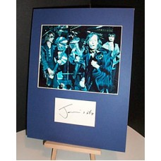 COCKER Jarvis Harry Potter Autographed Display UACC