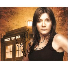 COLLINS Michelle Dr Who In Person Autograph 357E UACC COA