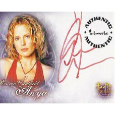 CAULFIELD Emma Buffy Signed Trading Card
