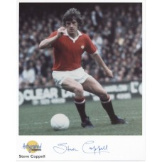 COPPELL Steve Man Utd Signed Autographed Editiond Photo UACC COA