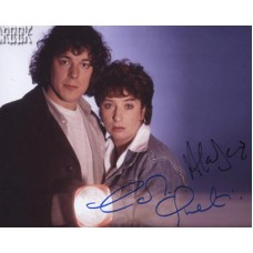 CREEK Jonathan Cast Signed Alan Davies Signed Photo 900F UACC COA