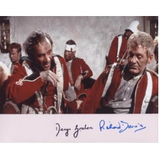 DAVIES Richard GRAHAM Denys Zulu RARE Autographs 900G UACC COA
