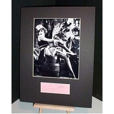 DIETRICH Marlene Autographed Display UACC