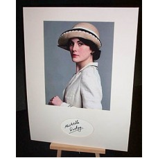 DOCKERY Michelle Downton Abbey Autographed Display UACC