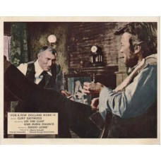 FOR A FEW DOLLARS MORE Original UK FOH / LOBBY CARD Clint Eastwo