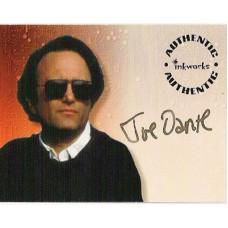 DANTE Joe Signed Trading Card UACC COA