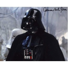 EARL JONES James Star Wars In-Person Signed Photo 362J UACC