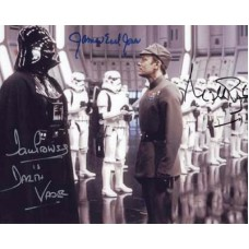 RETURN OF THE JEDI Prowse Pennington Earl Jones Signed Photo 278C UACC COA