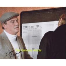 EDWARDS Glynn Get Carter Rare Signed Photo 398H UACC