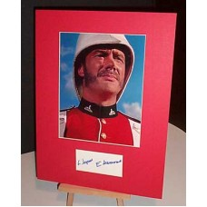EDWARDS Glynn Zulu Autographed Display UACC