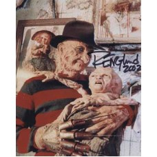 ENGLUND Robert Freddy Krueger In Person Autograph 855A UACC
