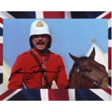 FAULKNER James Zulu Dawn Signed Photo 877H UACC