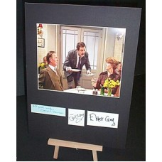FAWLTY TOWERS Cast Signed Display UACC
