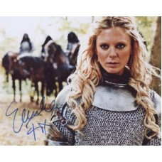 FOX Emilia Morgause in Merlin Signed Photo 501G UACC