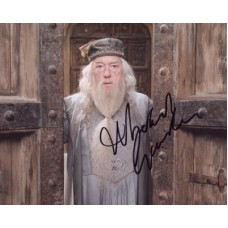 GAMBON Michael Harry Potter Signed Photo 479F UACC COA