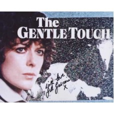 GASCOINE Jill The Gentle Touch In Person Signed Photo 297G UACC